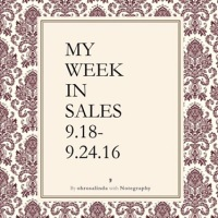 My Week in Sales 9.18-9.24.16