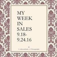My Week in Sales 9.18-9.24.16
