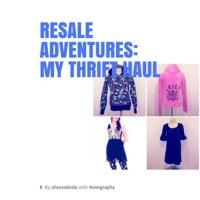 Resale Adventures: My Thrift Haul