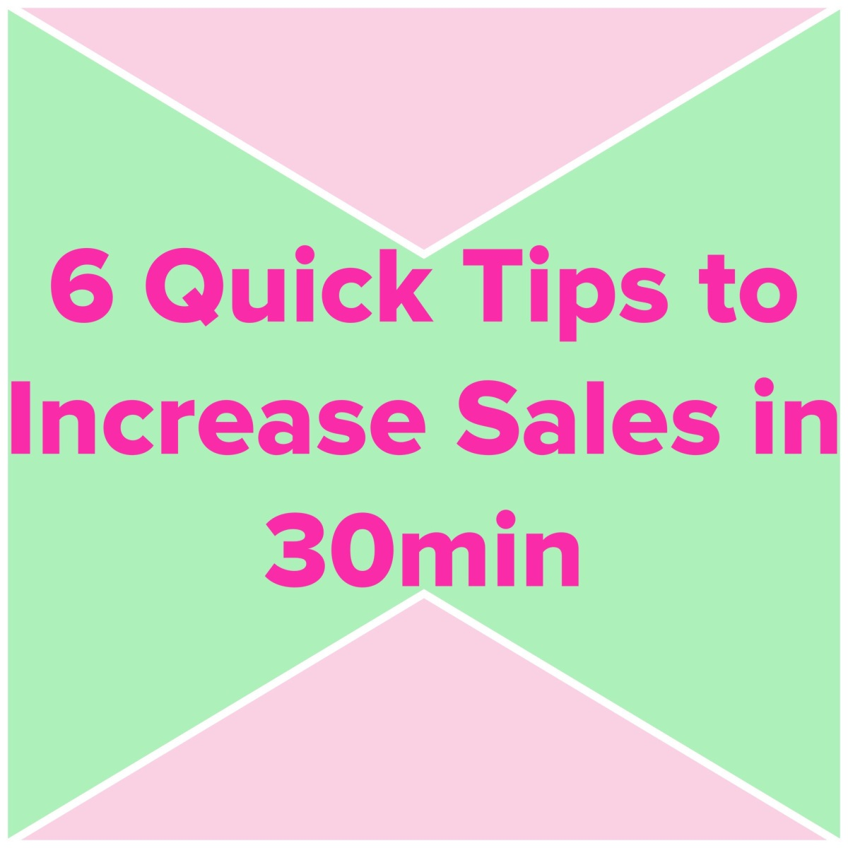Poshmark: 6 Quick Tips you can do in 30min to Increase Sales