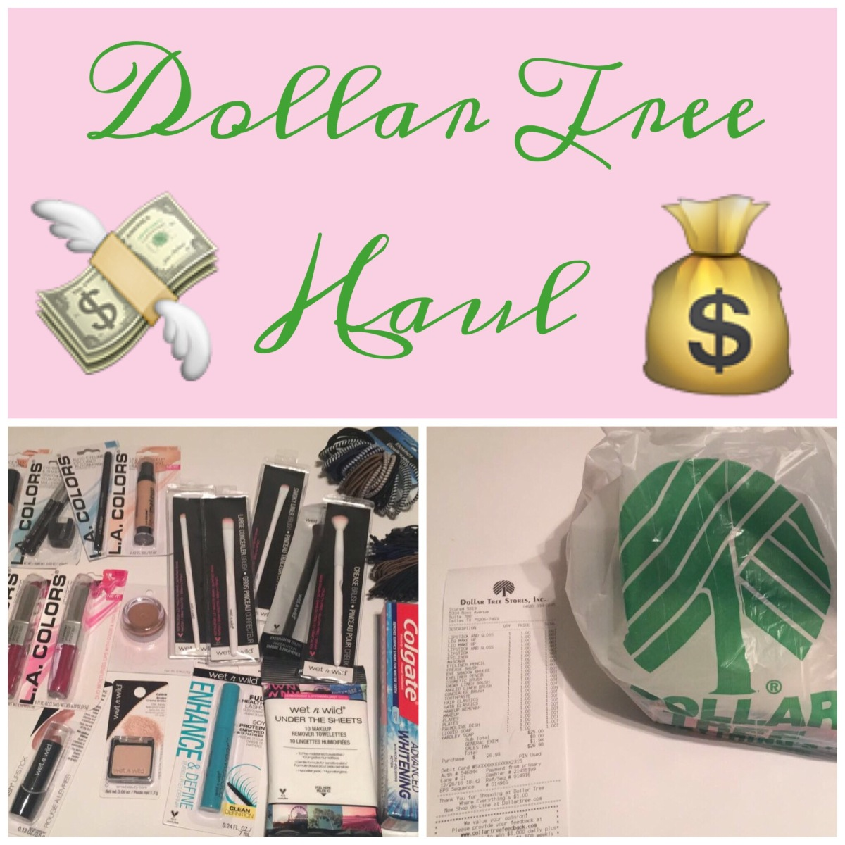 Dollar Tree Haul | Part 1: Wet n Wild
