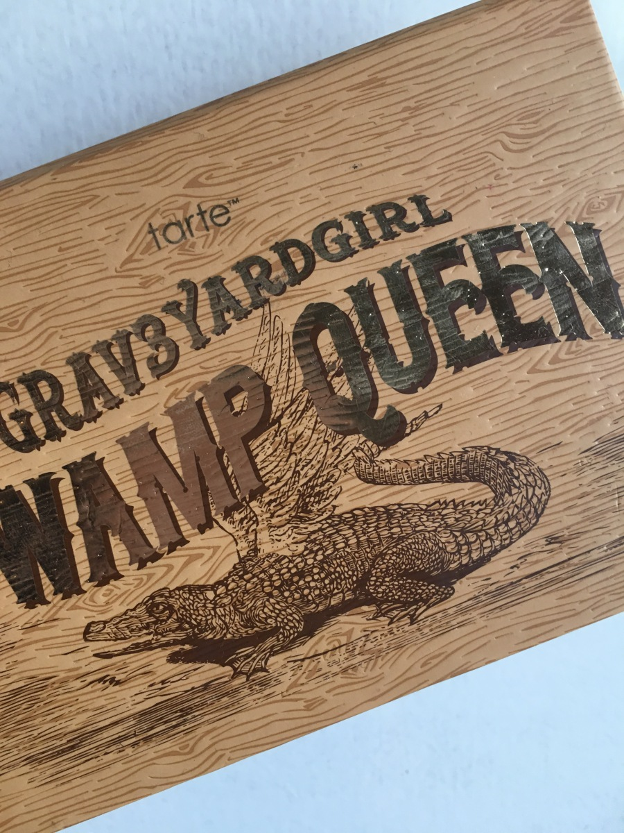 Tarte Grav3yardgirl Swamp Queen Palette Swatches & Review
