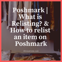 Poshmark | What is Relisting? & How to relist an item on Poshmark